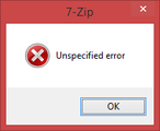 7-zip - Unspecified – April 4, 2015