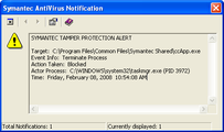 AntiVirus Tamper Protection – February 8, 2008