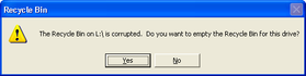 Corrupted Recycle Bin – July 9, 2012