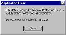 DRVSPACE – April 15, 2007