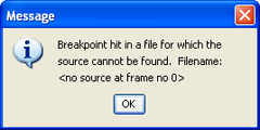 File not found (BlueJ) – January 25, 2007