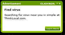 Find virus – May 13, 2008