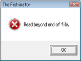 Fishinator - past end – March 19, 2008