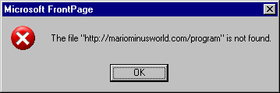 MMW not found – April 1, 2007
