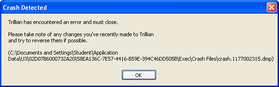 Trillian - Crash Detected – April 19, 2007